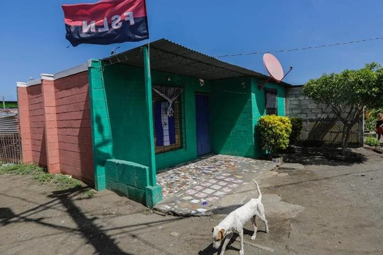 """Una casa en Villa Guadalupe para las personas del basurero conocida como la """"Chureka""""(AFP)."""