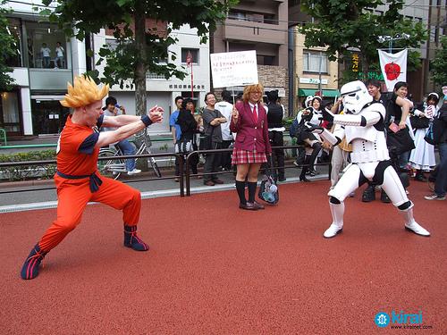 Los geeks siguen series animadas y se disfrazan de sus personajes favoritos. (Foto Prensa Libre: Blog: Tribus urbanas)