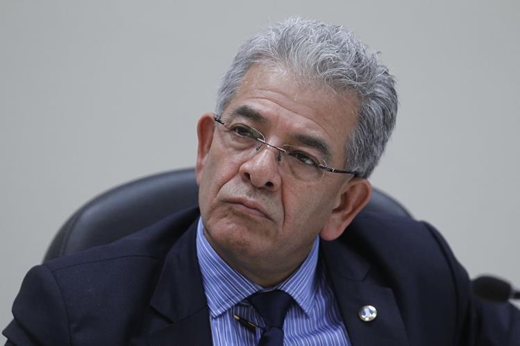 El juez Miguel Ángel Gálvez, entró a la historia del país al ligar a proceso a la primer mujer en ocupar la Vicepresidencia.(Foto Prensa Libre: Paulo Raquec)