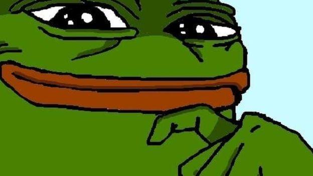 Pepe el Sapo no tenía connotaciones antisemitas originalmente. PEPE THE FROG