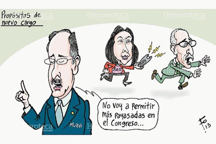 Caricatura Fo del 20 de enero del 2013. (Foto: Hemeroteca PL)