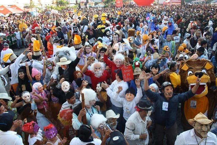 El Convite de los Fieros cumple 254 años este 1 de noviembre.(Foto Prensa Libre: cortesía)