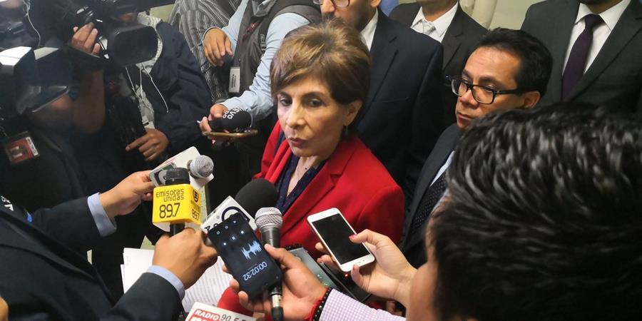 La diputada Nineth Montenegro enfrenta un antejuicio. (Foto Prensa Libre: Hemeroteca PL)