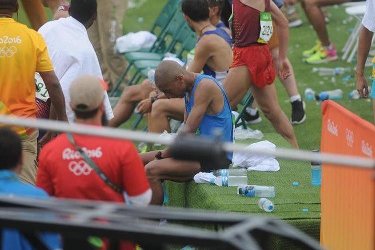 El guatemalteco José Amado García aún se plantea su continuidad en el deporte. (Foto Prensa Libre: COG)