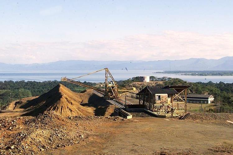 El sector de Minas y Canteras terminó en negativo. (Foto Prensa Libre: Hemeroteca PL)