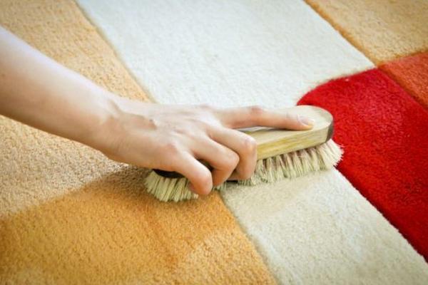 Para mantener la alfombra limpia, esparcir sal sobre esta y luego aspirarla.