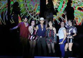 El grupo mexicano arrancó suspiros en Guatemala.