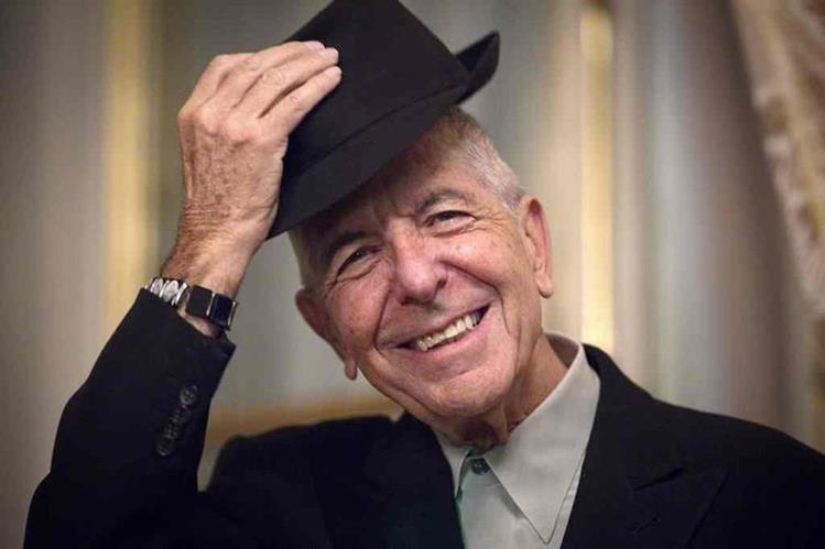 El legendario cantautor y poeta canadiense Leonard Cohen falleció a los 82 años. (Foto Prensa Libre: AFP)