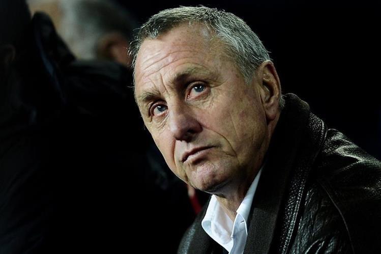Johan Cruyff fue diagnosticado con un cáncer de pulmón el 22 de octubre pasado. (Foto Prensa Libre: AP).