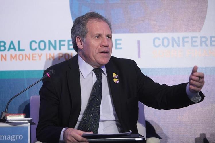 <em>Luis Almagro, secretario general de la OEA. (Foto Prensa Libre: EFE).</em>