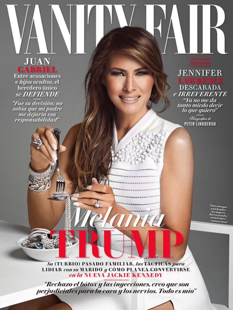Portada de la edición de febrero de la revista Vanity Fair. (Foto Prensa Libre: Tomada de vanityfair.mx)