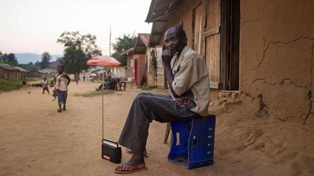 El Servicio Mundial de la BBC es tremendamente popular en África. AFP