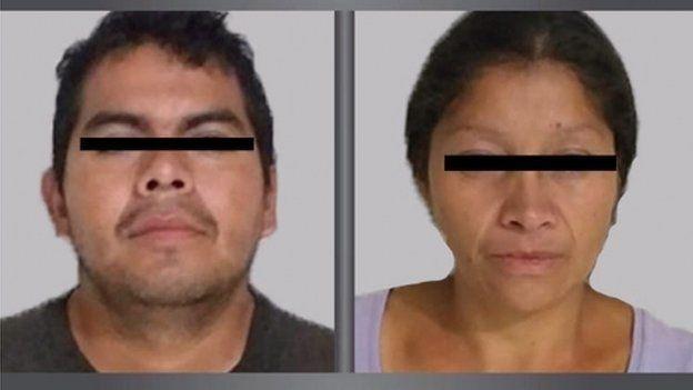 Juan Carlos y Patricia están acusados de cometer decenas de crímenes en Ecatepec, México. EPA