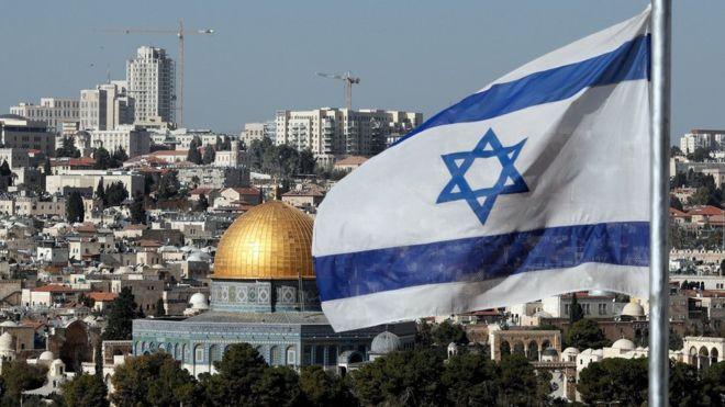 Israel considera a Jerusalén como su capital indivisible. Los palestinos quieren que Jersualén Este sea la capital de su futuro Estado. AFP