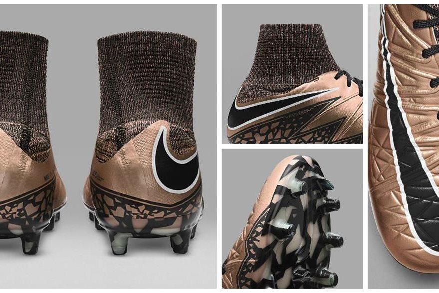 Esta es una colección fotográfica de los zapatos Hypervenom de Nike del brasileño Neymar. (Foto Prensa Libre: Internet)