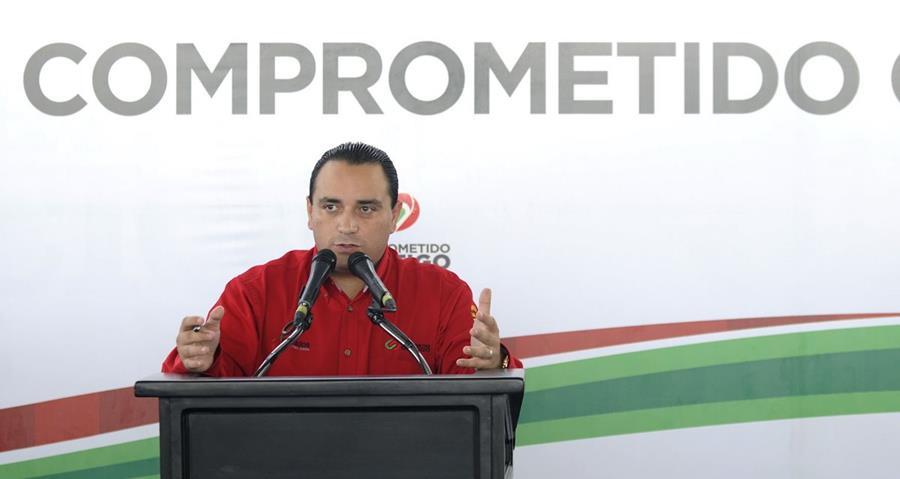 El exgobernador de Quintana Roo, Roberto Borge, fue capturado previo a viajar a París, Francia.(Foto Prensa Libre: El Constituyente)