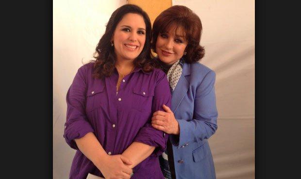 Angélica Vale junto a su madre Angélica María. (Foto Prensa Libre: Hemeroteca PL)
