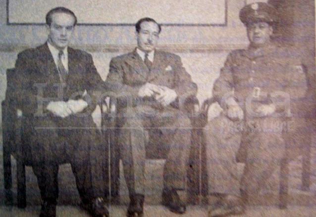 El triunvirato que derrocó a Ponce Vaides el 20 de octubre de 1944. (Foto: Hemeroteca PL)