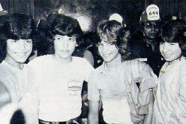 """Chayanne, Tony, Ray y Migue de """"Los Chicos"""" vinieron a Guatemala en 1982. (Foto Prensa Libre: Hemeroteca)"""