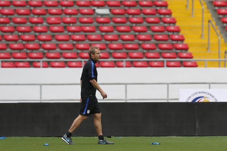 El futuro de Jürgen Klinsmann con la selección de Estados Unidos se ha vuelto incierto. (Foto Prensa Libre: AP)