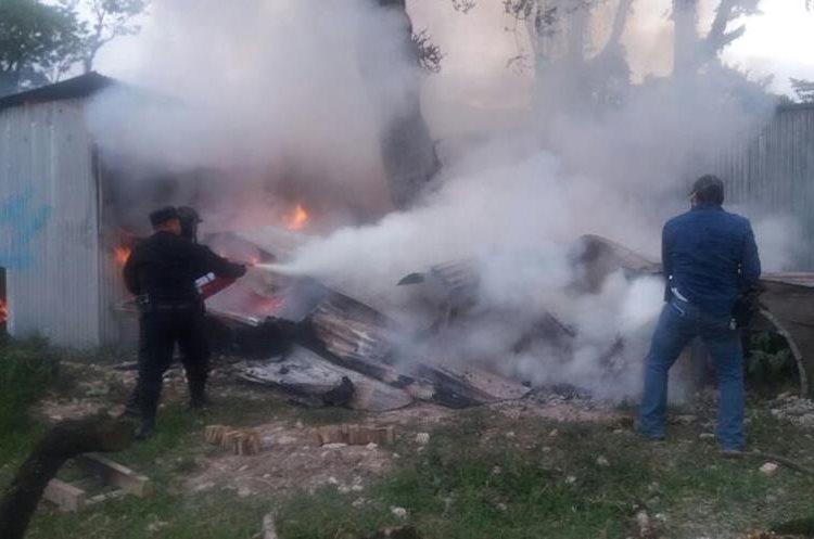 Jornada de disturbios y daños en proyecto hidroeléctrico en Ixquisis.