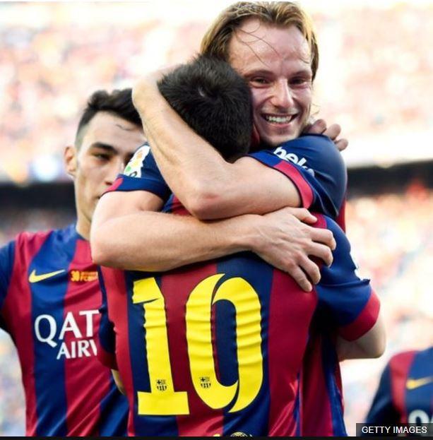 El futbolista croata se siente agradecido de compartir vestuario con figuras como Lionel Messi.