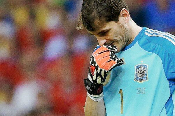 Casillas se despide del equipo que lo vio nacer. (Foto Prensa Libre: Hemeroteca PL)