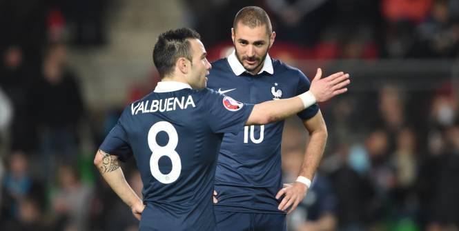 Benzema está involucrado en un escándalo de un chantaje por un video con contenido sexual de su compañero Mathieu Valbuena. (Foto Prensa Libre: _Hemeroteca)