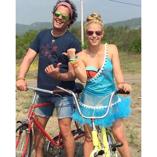 Para la grabación del videoclip, Carlos Vives y Shakira recorrieron su natal Colombia. (Foto Prensa Libre: Instagram)