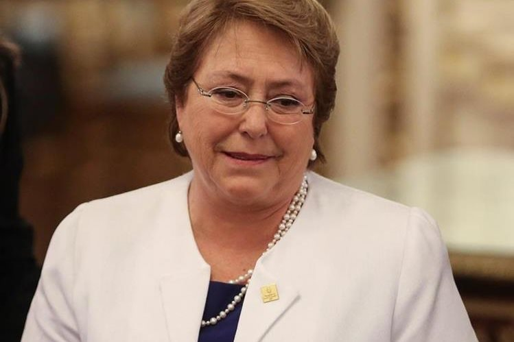 """Michelle Bachelet, presidenta de Chile, dice que concluye su """"pero año"""". (Foto Hemeroteca PL)."""