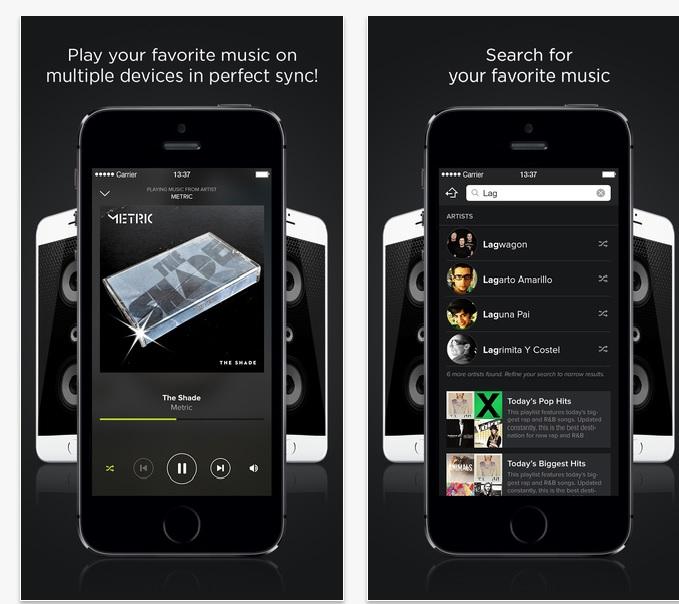 AmpMe una aplicación gratuita para reproducir música. (Foto Prensa Libre: Hemeroteca PL).