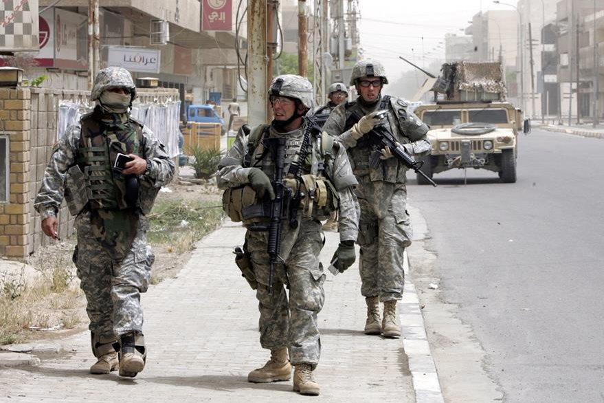 EE. UU. retiró a sus militares desde el 2007. (Foto: Archivo EFE).