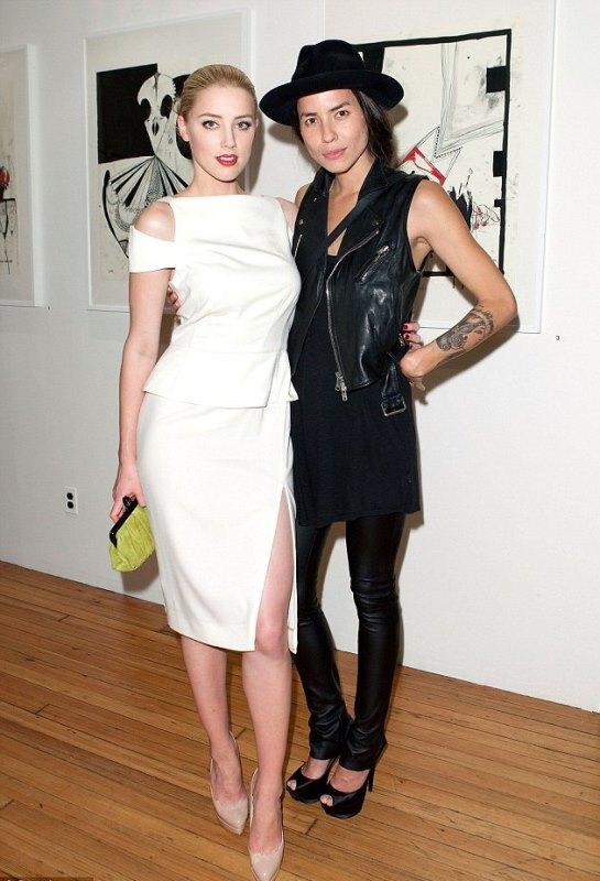 En el 2009, Amber Heard sostuvo una relación con Tasya van Ree. (Foto Prensa Libre: dailymail)