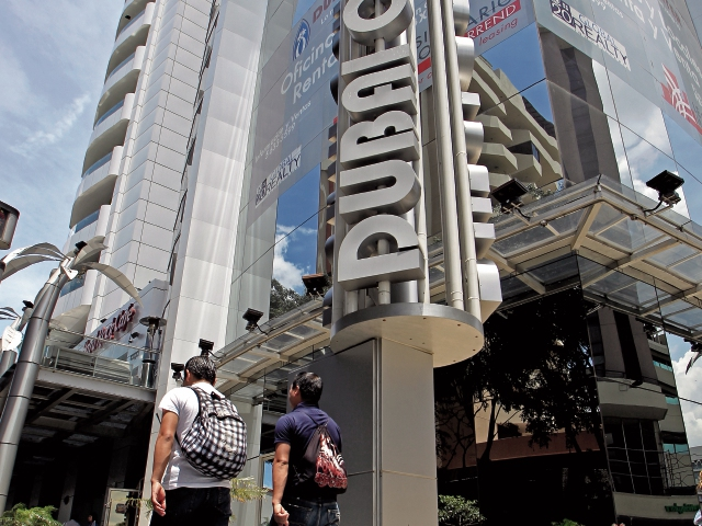 El edificio Dubai Center se ubica en la Zona Viva, zona 10 capitalina. (Foto, Prensa Libre: Hemeroteca PL)