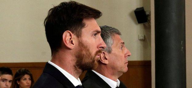 Messi y su padre fue hallados culpables, pero no tendrán que cumplir la pena en prisión. REUTERS
