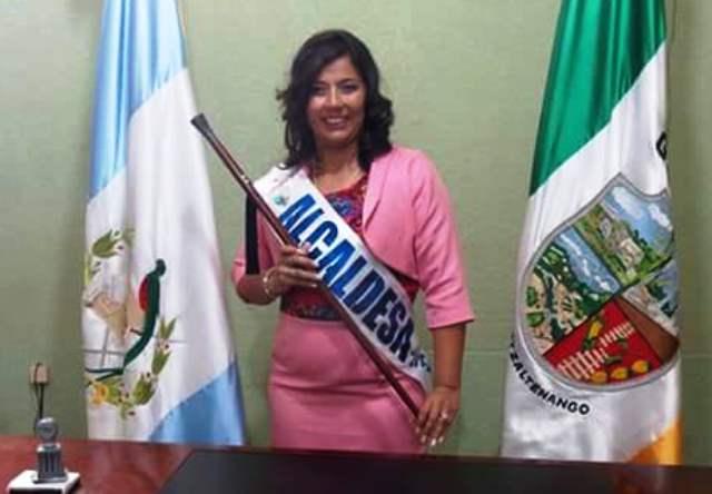 Sheily Beatriz Vásquez González (Génova, Quetzaltenango) asumió el cargo por primera vez, y tiene como meta mejorar el  servicio de agua entubada y crear  proyectos de salud.