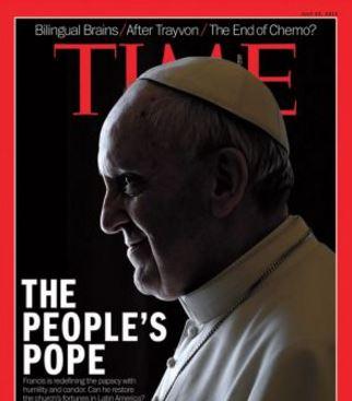 El papa Francisco, portada de Time en el 2013. (Foto: internet).