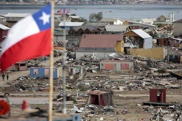 Científicos comprobaron que el terremoto como el de Maule,Chile del 2010 ocurrió en momentos de una gran fuerza de marea alta.(EFE).