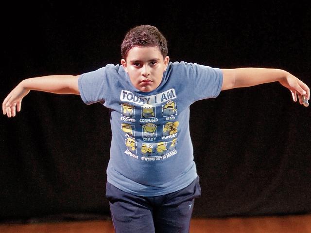 Ángel Jiménez quiere ser un actor de renombre.
