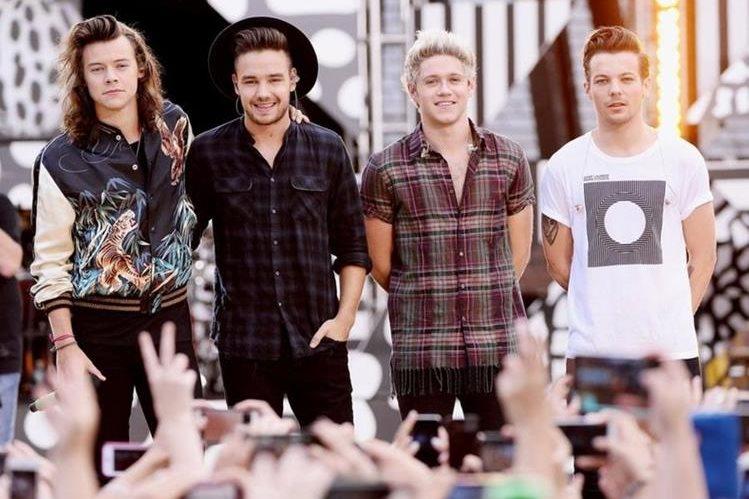 One Direction después de que Zayn Malik abandonara el grupo en 2015. (Getty Images).