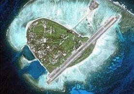 La isla Yongxing se halla en diesputa entre Taiwán y China.