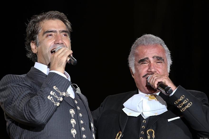 Alejandro Fernández es hijo de Vicente Fernández (Foto Prensa Libre: Getty Images)
