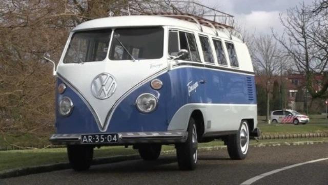 Furgoneta hippie, uno de los clásicos de Volkswagen.