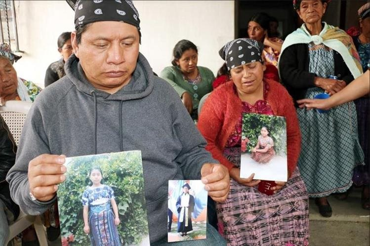 Padres de Claudia Gómez González esperan ayuda para la repatriación. (Fotos Prensa Libre: Carlos Ventura)