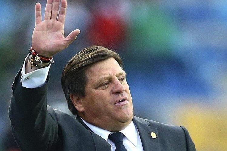 Miguel Herrera fue destituido ayer como técnico de la selección mexicana de futbol. (Foto Prensa Libre: Hemeroteca PL)