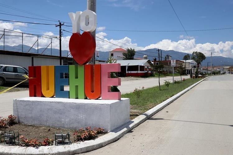 El proyecto, donado por el empresario huhueteco Jorge Granados, impulsa el amor por Huehuetenango. (Foto Prensa Libre: Mike Castillo)