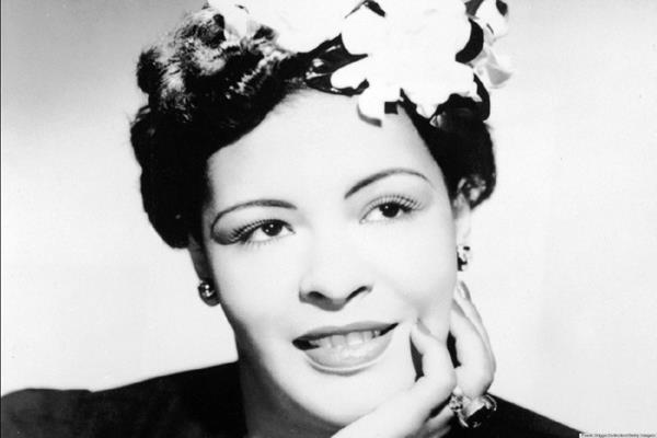 Cantante de  jazz Billie Holiday,  llamaban Lady Day, nació el 7 de abril de 1915. Después de cien años se reconoce su labor en contra del racismo. Foto