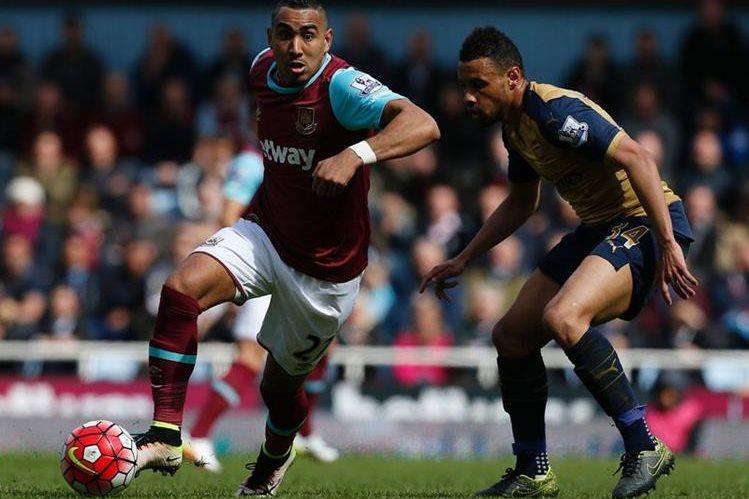 El Arsenal perdió una buena oportunidad de acercarse al Leicester. (Foto Prensa Libre: AFP)