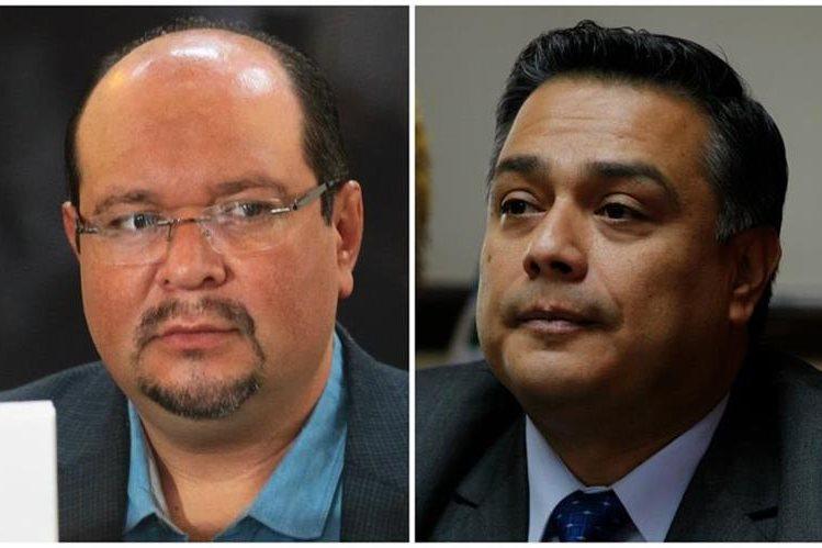Orlando Blanco (UNE) y Javier Hernández (FCN Nación) miden fuerzas.