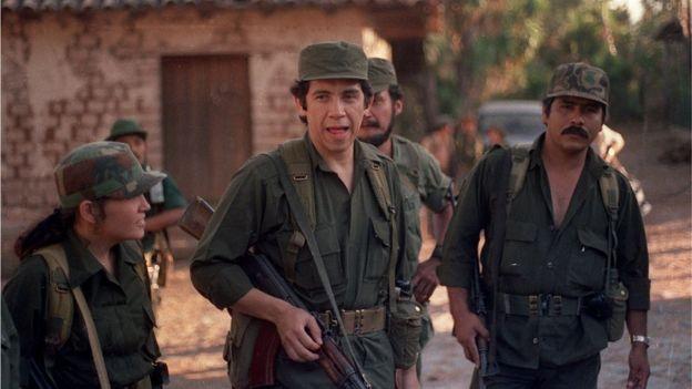 Dalton pertenecía al ERP, que contaba entre sus comandantes a Joaquín Villalobos. (AFP).